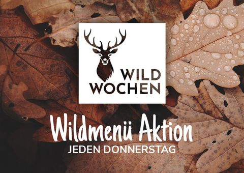 4 Gänge Wildmenü